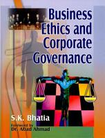 Business Ethics and Corporate Governance PDF