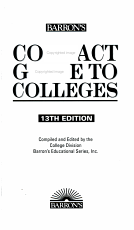 Barron s Compact Guide to Colleges PDF