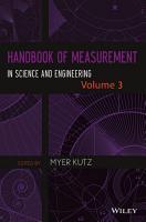 Handbook of Measurement in Science and Engineering PDF