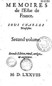 Memoires de l'Estat de France, sous Charles Neufiesme