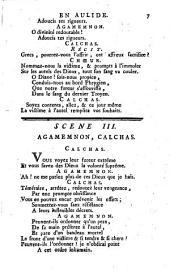 Iphigénie en Aulide: tragédie-opera en trois actes