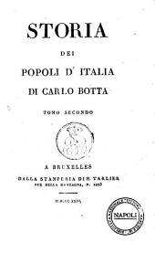 Storia dei Popoli D' Italiia