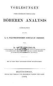 Compendium der höheren Analysis: In 2 Bänden. Mit in den Text eingedruckten Holzstichen, Band 2