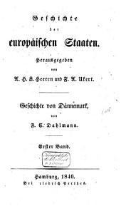 Geschichte von Dännemark: Band 1