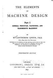 The Elements of Machine Design ...