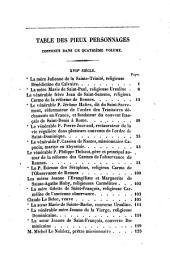 Vies des saints de Bretagne