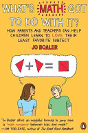 What s Math Got to Do with It  Book