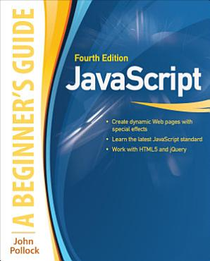 JavaScript  A Beginner s Guide  Fourth Edition  INKLING CH  PDF