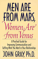 Men Are from Mars  Women Are from Venus Book