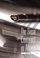 The Social Contract in Africa PDF
