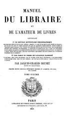 Manuel du libraire et de l amateur de livres PDF