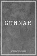 Gunnar Weekly Planner