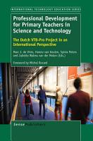 Professional Development for Primary Teachers in Science and Technology PDF