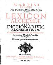 Lexicon Alchemiae