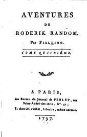 Aventures De Roderick Random: Volume4