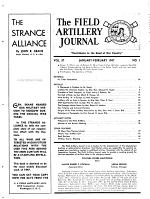 The Field Artillery Journal PDF