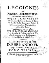 Lecciones de Physica Experimental