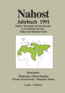 Nahost Jahrbuch 1991