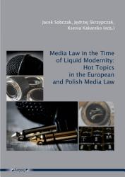 Media Law In The Time Of Liquid Modernity Book PDF