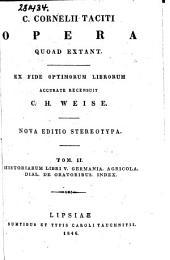 C. Cornelii Taciti Opera quoad extant: Volume 2