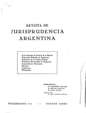Jurisprudencia argentina PDF
