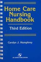 Home Care Nursing Handbook PDF