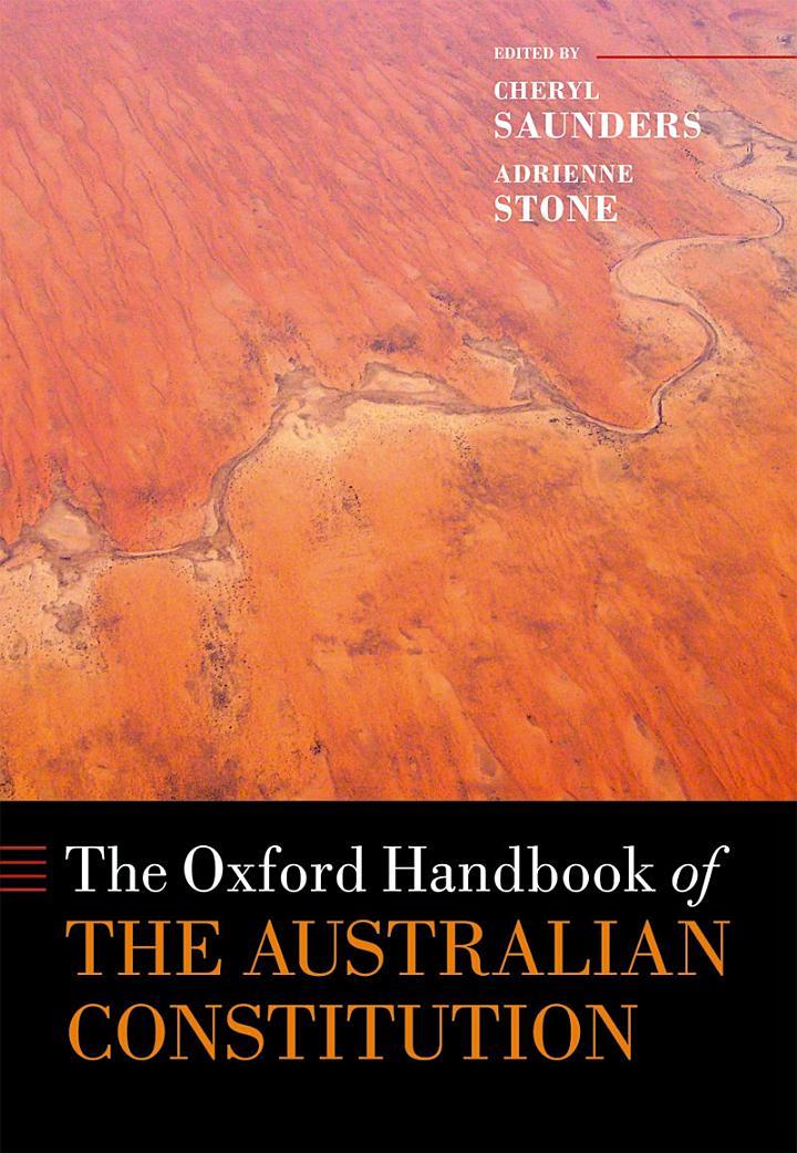 The Oxford Handbook of the Australian Constitution