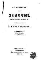 La Heredera de Sangumí: romance original del siglo XII