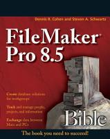 FileMaker Pro 8 5 Bible PDF