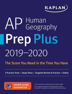 AP Human Geography Prep Plus 2019 2020