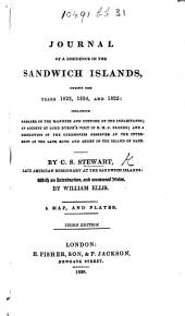 Private Journal of a voyage to the Pacific Ocean, and residence at the Sandwich Islands, in the years 1822, 1823, 1824, and 1825