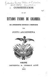 Constitucion de los Estados Unidos de Colombia