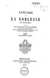 Annuaire de la noblesse de Belgique: Volume15