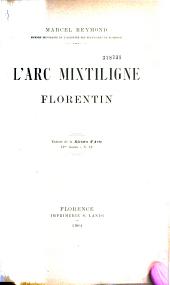 L'arc mixtiligne florentin