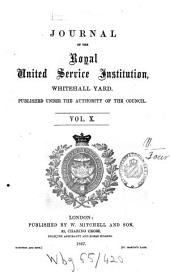 Journal of the Royal United Service Institution: Volume 10