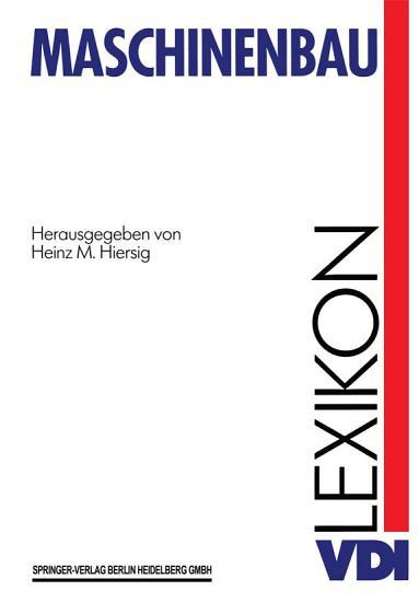 VDI Lexikon Maschinenbau PDF