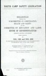 Youth Camp Safety Legislation PDF