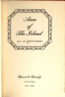 Anne of the Island PDF