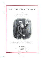 An Old Man's Prayer