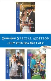 Harlequin Special Edition July 2016 Box Set 1 of 2: Marriage, Maverick Style!\Third Time's the Bride!\The Matchmaking Twins