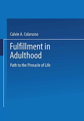 Fulfillment in Adulthood