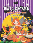 Halloween Coloring Activity Book For Kids Ages 4-8