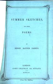 Summer sketches, and other poems