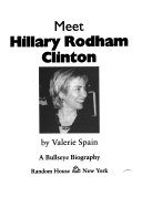 Download Meet Hillary Rodham Clinton Book