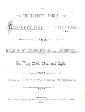 Report of the Annual Co-operative Congress
