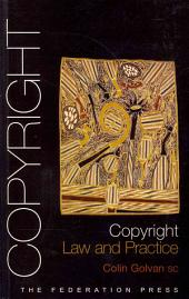 Copyright: Law and Practice