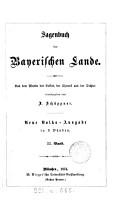 Sagenbuch der bayerischen Lande  aus dem Munde des Volkes  der Chronik und der Dichter herausg  von A  Sch  ppner  Neue Volks Ausg PDF