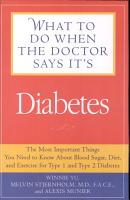 What to Do When the Doctor Says It s Diabetes PDF