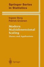 Modern Multidimensional Scaling