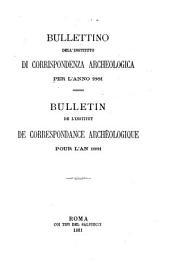 Bullettino dell'Instituto di corrispondenza archeologica: Bulletin de l'Institut de correspondance archéologique